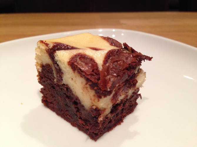 Chocolate cheesecake brownie- KAF 4