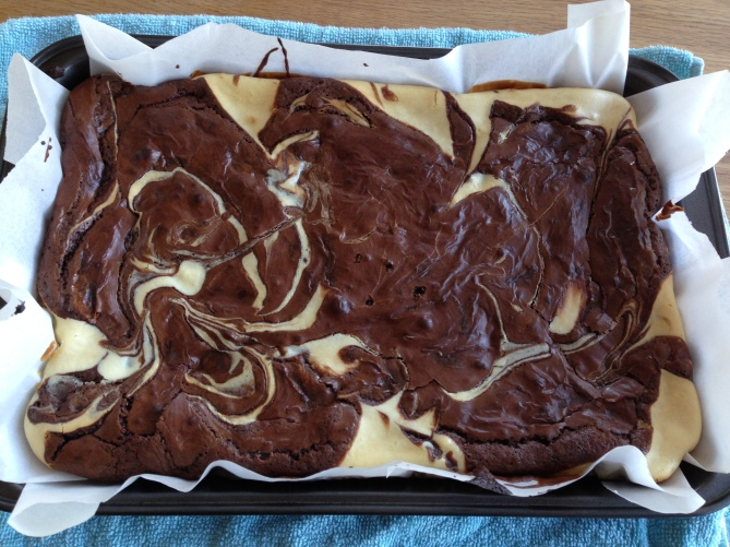 Chocolate cheesecake brownie- KAF