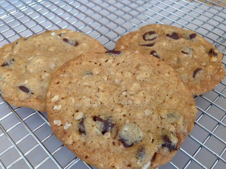Ultrathin Choc chunk cookies- A Medrich 3
