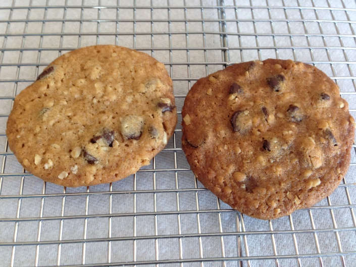 Ultrathin Choc chunk cookies- A Medrich 5