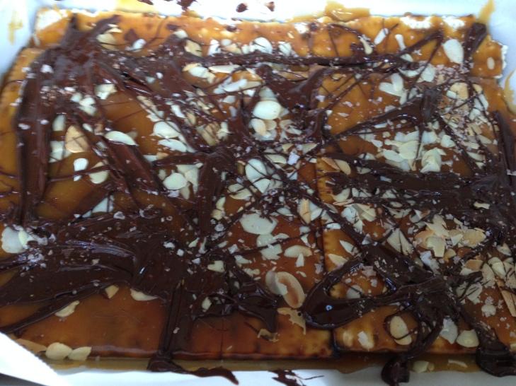 Matzo-Almond Croccante- Bon Appetit  2