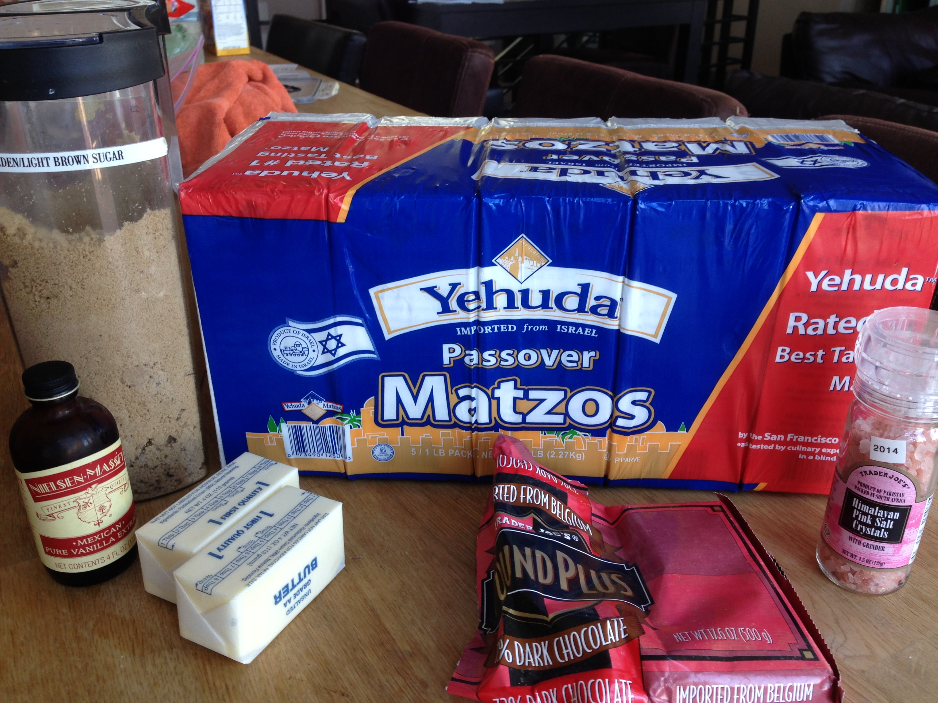 Chocolate-Covered Caramelized Matzoh Crunch – Matzoh ...