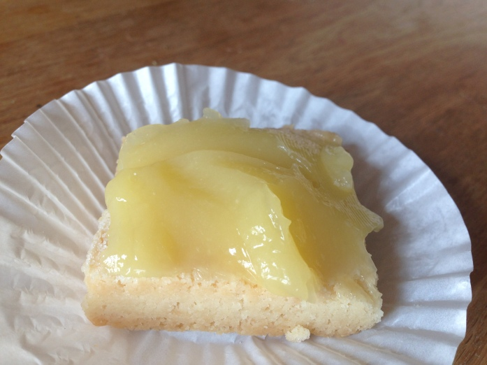 Scottish Shortbread w lemon-lime curd- FC 4
