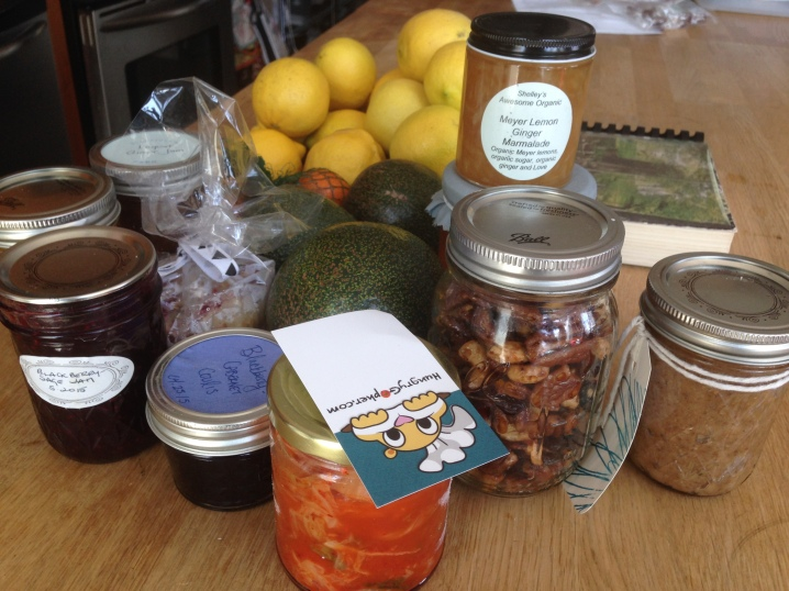 LA food swap haul