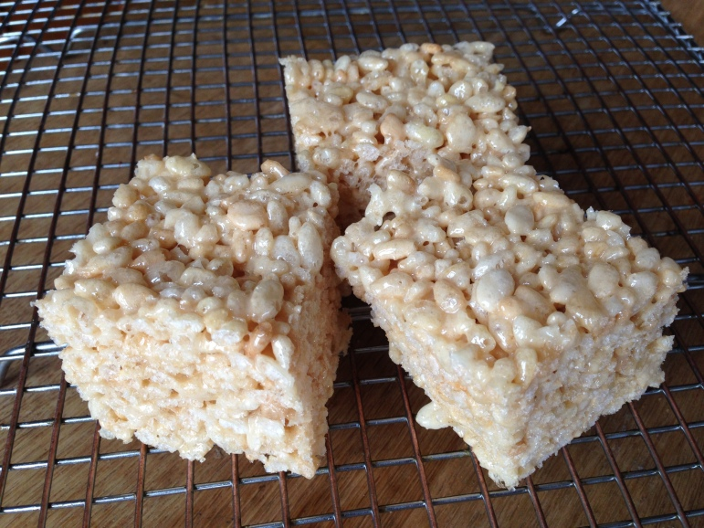 Rice Krispie treats1