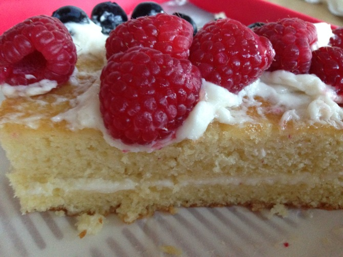 Vanilla cake- A Medrich 5