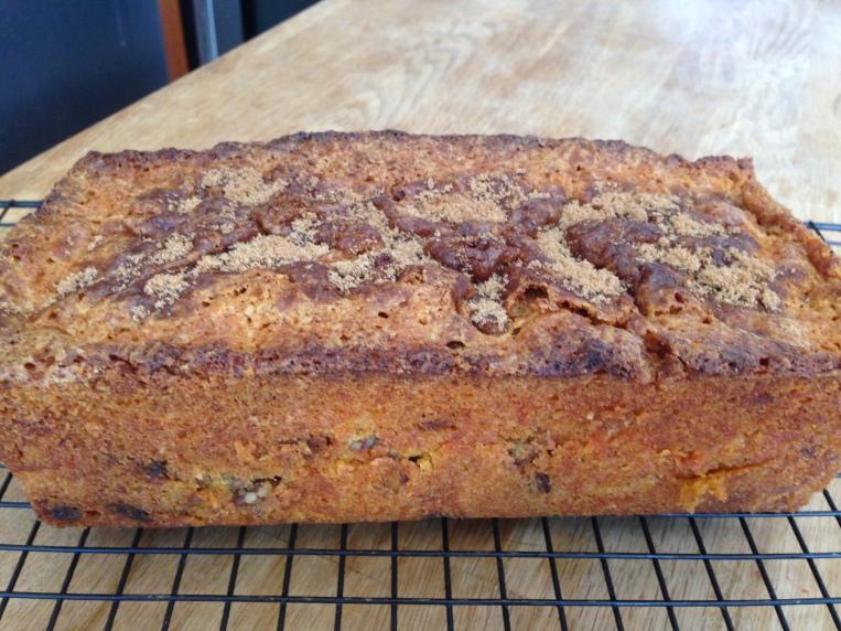 Carrot-Pecan Loaf Cake- BonAppetit2