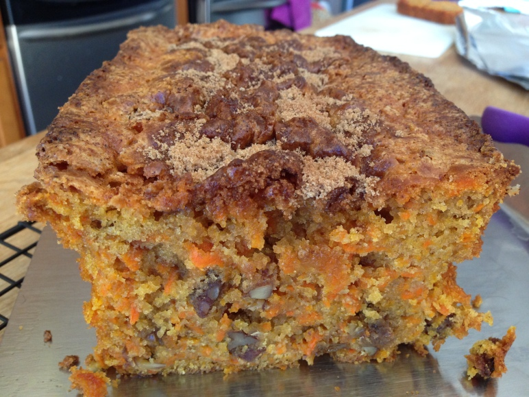 Carrot-Pecan Loaf Cake- BonAppetit7
