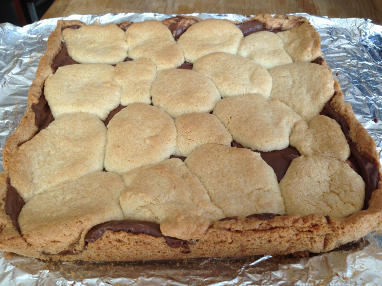 Nutella Sugar Cookie Bar-C4C2
