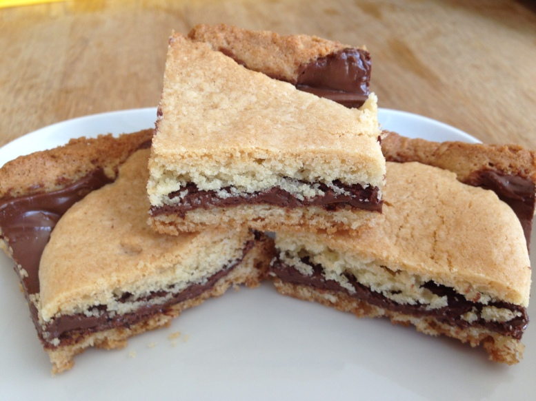Nutella Sugar Cookie Bar-C4C3