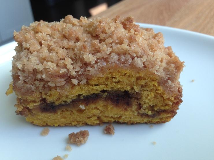 Pumpkin Streusel Coffeecake-KAF2