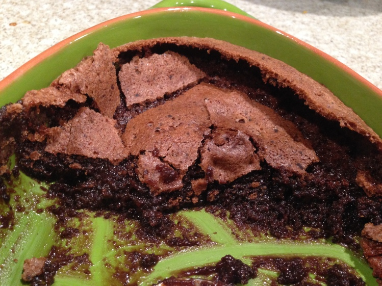 Baked Chocolate Pudding- Back to Basics I Garten- 1