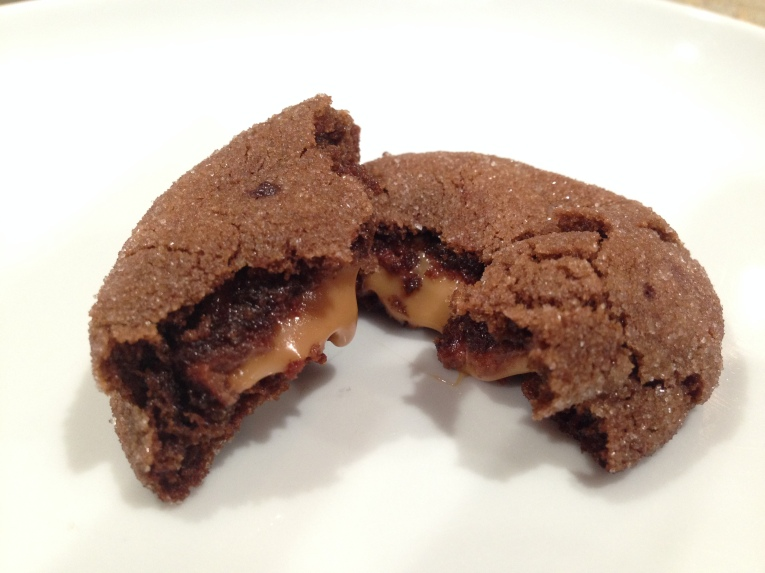 Chocolate Rolo Cookies- 1